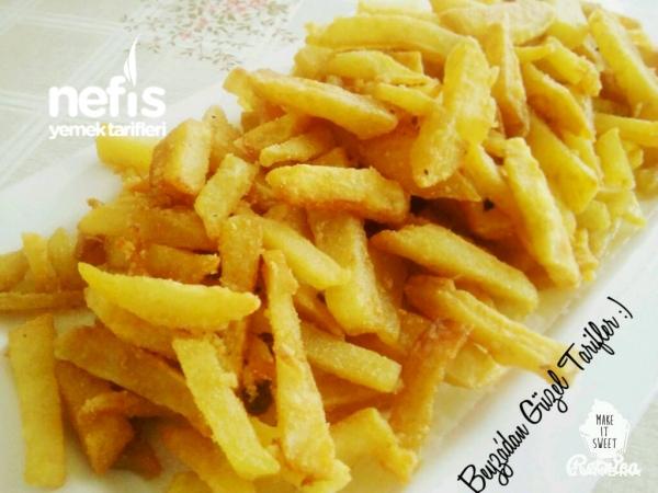 Mısır Unlu Çıtır Patates Kızartması