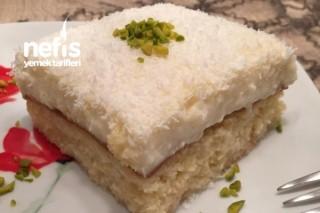 Sütlü Şerbetli Gelin Pastası Tarifi