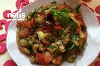 Közlenmiş Patlıcan Salatası - Diyete Uygun Tarifi
