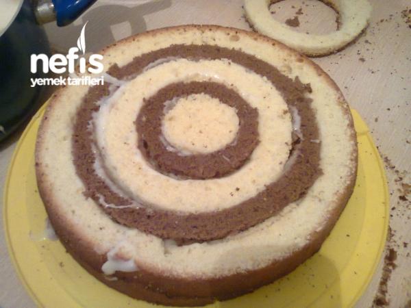 Damalı Pasta (Resimli Anlatım)