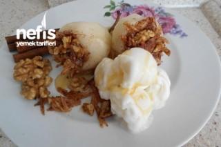 Elmalı Ballı Armut Tatlısı Tarifi