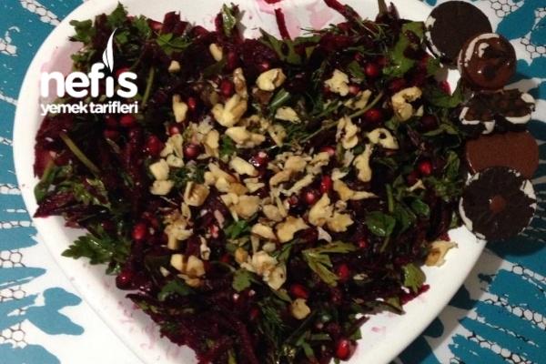 Narlı Pancar Salatası Tarifi