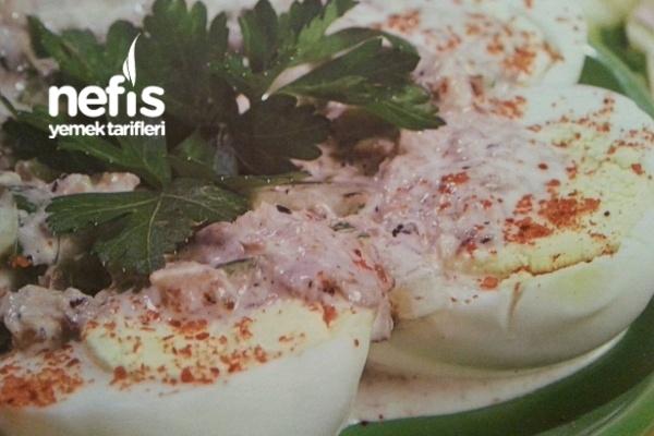 Salatalık Soslu Yumurta Tarifi