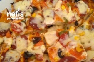 Yufkadan Pizza Tarifi