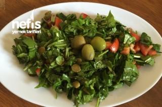 5 Dk'da Roka Salatası Tarifi
