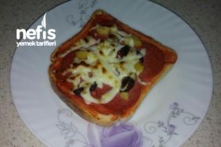 Pratik Çay Saati Pizzası Tarifi