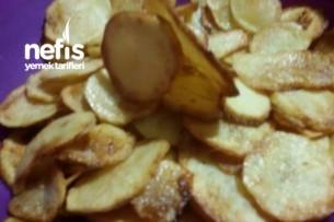 Patates Cipsi ( Hem Fırın Hem Tavada ) Tarifi