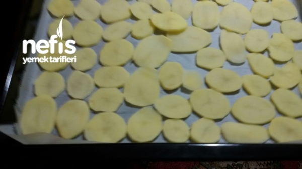 Patates Cipsi ( Hem Fırın Hem Tavada )