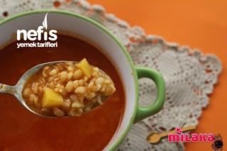 Bol Vitaminli Bulgur Çorbası Tarifi