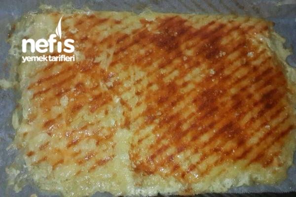 Tost Makinasında Kahvaltılık Patates