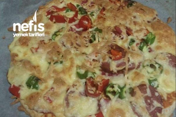 Kepekli Tortilla Pizza