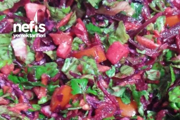 Ekşili Kış Salatası Tarifi