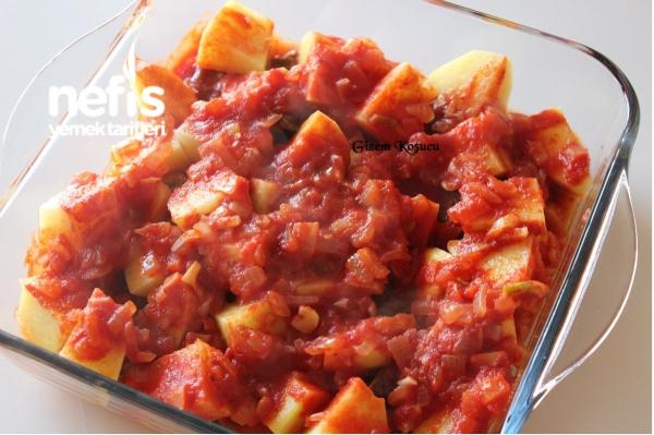Fırında Patatesli