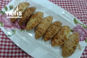 Peynirli Maydonozlu Kıyır Poğaça Tarifi