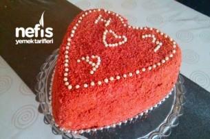 Yıldönümü Pastası (Kadife Pasta) Tarifi