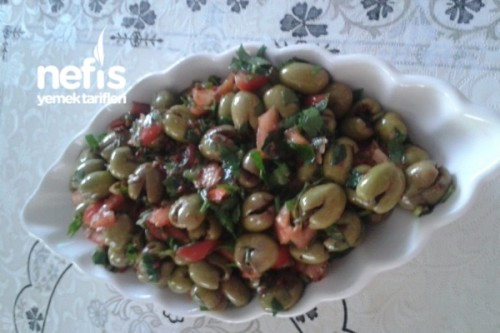 Zeytin Salatası Yapılışı Videosu