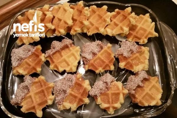Ağızda Dağılan Waffle Kurabiye Tarifi