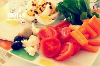 Sağlıklı Kahvaltı Tabağı Nasıl Olmalı Tarifi