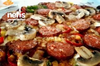Tavada Pizza Keyfi (Hazırdan Farksız) Tarifi