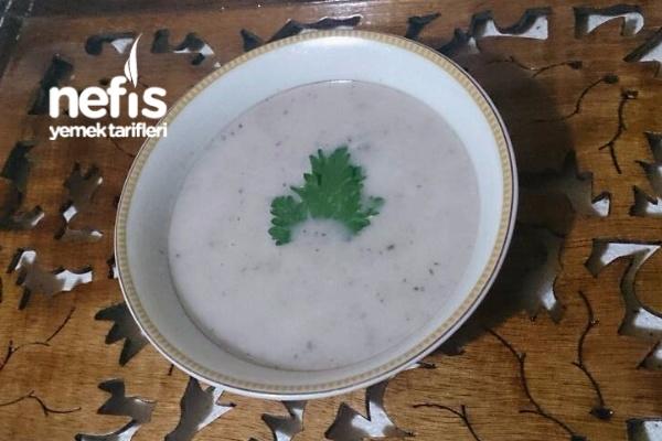 Yerelmalı Mantar Çorbası