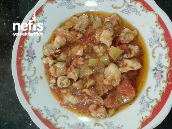 Şipşak Tavuk Sote (resimli Anlatım)