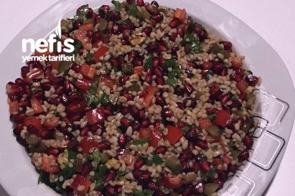 Narlı Bulgurlu Tabule Salatası Tarifi