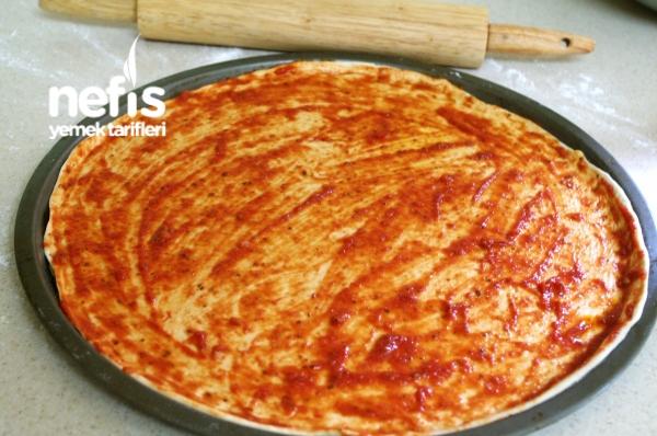 Sebzeli Pizza (vejetaryen)