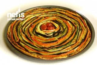 Sebzeli Pizza (vejetaryen) Tarifi