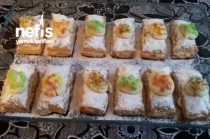 Milföylü Porsiyonluk Pasta Tarifi