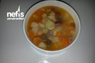 Minestrone Çorba (Sebze Çorbası) Tarifi