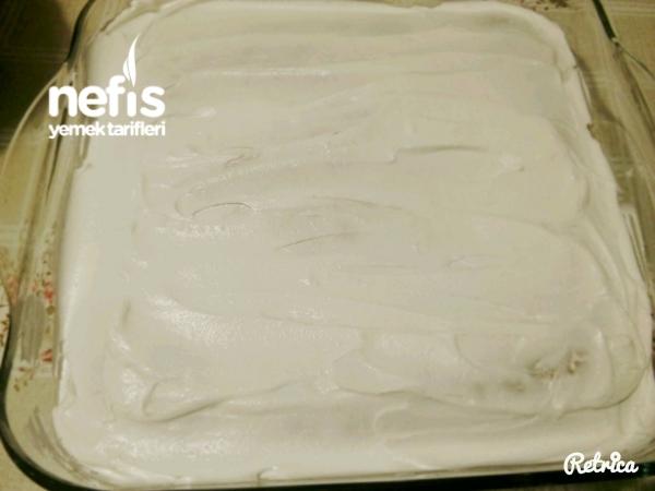 Nescafeli Yaş Pasta