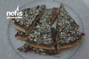 Fındıklı Cevizli Çikolatalı Pizza Tarifi