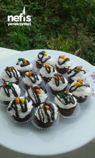 10 Dk Pratik Cupcake Pasta
