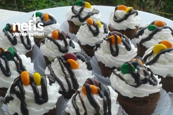10 Dk Pratik Cupcake Pasta Tarifi
