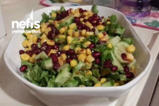 5 Dkda Pratik Kış Salatası Tarifi