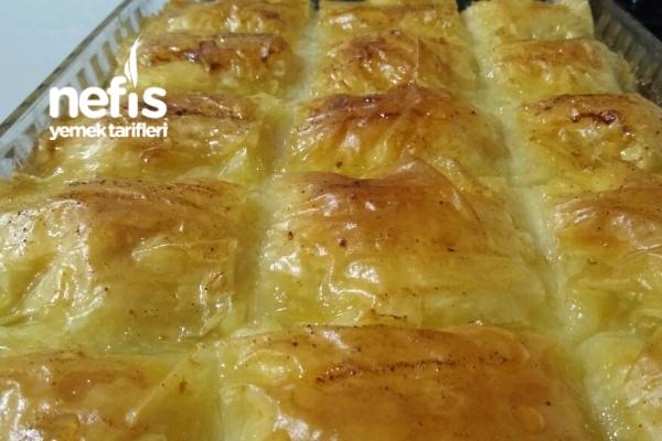 Laz Böreği (Baklavalık Yufkadan) Tarifi
