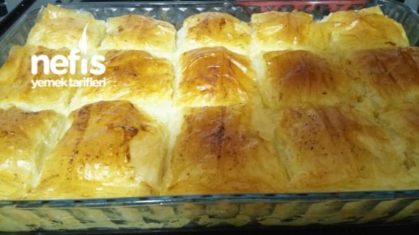 Laz Böreği (Baklavalik Yufkadan)