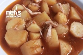Enfes Tavuklu Patates Yemeği Tarifi