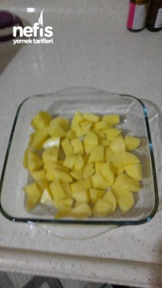 Fırında Küp Patates
