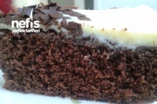Beyaz Çikolatalı Kakaolu Kek Tarifi