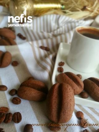 Kahve Çekirdeği Kurabiye ( Türk Kahveli Kurabiye )