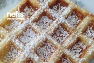 Waffle (Belçika Usulü) Tarifi