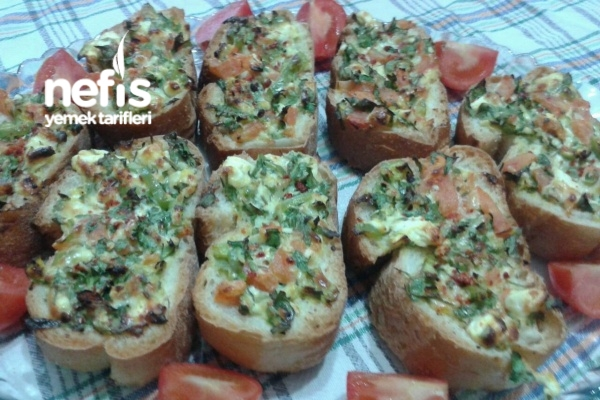 Kahvaltılık Peynirli Ekmek Tarifi