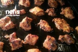 Fırında Mangal Tadında Tavuk Şiş Tarifi