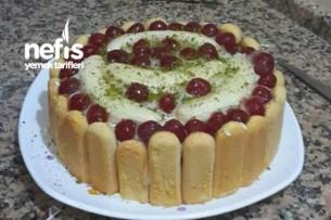 Kedilli Meyveli Pasta Tarifi