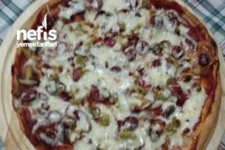 Yumuşak Hamurlu Pizza Tarifi