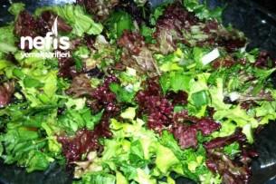 Metabolizmayı Hızlandıran Yeşil Salata Tarifi