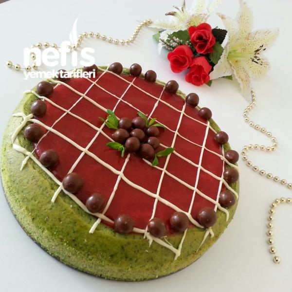Ispanaklı Pudingli Magma Kek