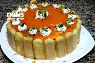 Balkabaklı Kedidilli Pasta Tarifi