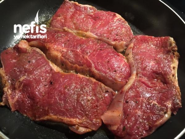 Mantar Soslu Biftek